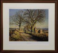 CHESNUT TREE AT DRON, A PRINT BY JAMES MCINTOSH PATRICK