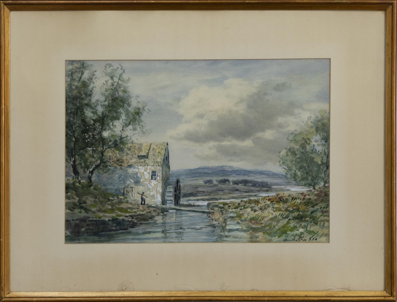 THE WATERMILL, A WATERCOLOUR BY JOHN HAMILTON GLASS