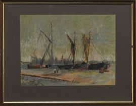 AN UNTITLED PASTEL ATTRIBUTED TO TOM CAMPBELL