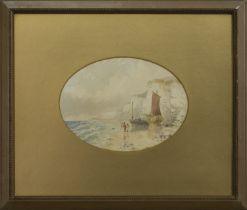 BRIGHTON, A WATERCOLOUR BY C T DICKSON