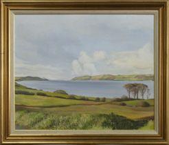 LANDSCAPE, AN OIL BY MOYA O'DAY
