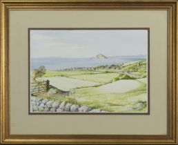 LOOKING OUT, A WATERCOLOUR BY MOYA O'DAY