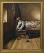 ONE FOOT AT A TIME, AN OIL BY ROBERT MORRISH