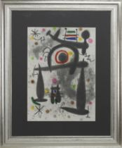 A PAIR OF LITHOGRAPHS BY JOAN MIRO