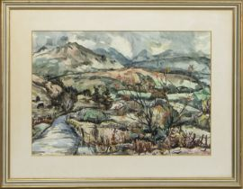 KINTAIL, A WATERCOLOUR BY WILLIAM CHALMERS BROWN