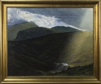 HONISTER PASS, AN OIL BY N CARTER