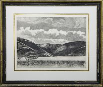 LATE AFTERNOON, ST MARY'S LOCH, A LIMITED EDITION PRINT
