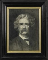 PORTRAIT OF MARK TWAIN BY JAMES COWAN SENIOR