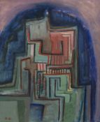 AN UNTITLED OIL BY ALFREDO AVELLA