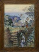 MAJORCA, A WATERCOLOUR BY ALEXANDER STUART BOYD