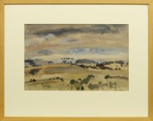 GALLOWAY LANDSCAPE, A WATERCOLOUR BY SIR WILLIAM GEORGE GILLIES