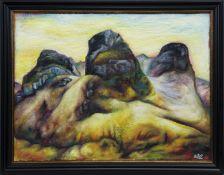 GLENCOE, AN OIL BY KEVIN O'ROURKE