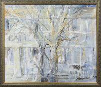 THE TREE, AN OIL BY JO VANTOURNHOUT