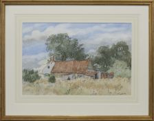 WILDIE RITCHIE'S HOUSE, A WATERCOLOUR BY ALASTAIR FLATTELY