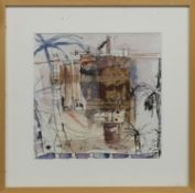 OUTREMER, A MIXED MEDIA BY CECILE COLOMBO