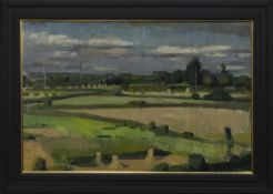 BRITTANY LANDSCAPE, AN OIL BY ALEXANDER GOUDIE
