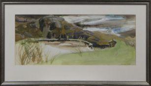 HAZEL THICKET, ARDNAMURCHAN, A WATERCOLOUR BY EDWARD GAGE