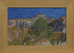 MONT VEYRIER, A MIXED MEDIA BY ALEXANDER GOUDIE