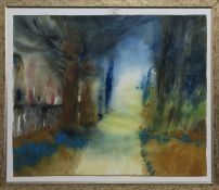 AN UNTITLED WATERCOLOUR BY CAROLINE BAILEY