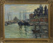 VENICE, AN OIL BY AGNES TROTTER FALCONER