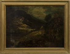 HIGHLAND RIVERSCAPE, A SCOTTISH OIL