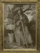 A SPANISH MONK, BARTOLOMÉ ESTEBAN MURILLO, AN OIL BY JOHN BULLOCH SOUTER