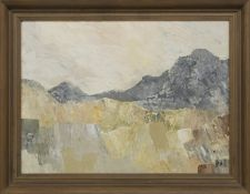 DISUSED QUARRY, NANTLLE, AN OIL ATTRIBUTED TO KYFFIN WILLIAMS
