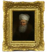 PORTRAIT OF A BEARDED MAN, AN OIL ATTRIBUTED TO DIETRICY