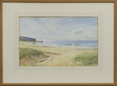 A SUMMER'S MORNING, A WATERCOLOUR BY DAVID WEST