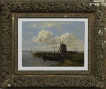 WINDMILLS AND WATER, AN OIL
