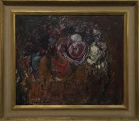 CABBAGE AND KALE, AN OIL BY ANNE REDPATH