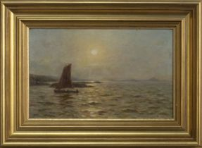 NORTH BERWICK, AN OIL BY DUNCAN CAMERON