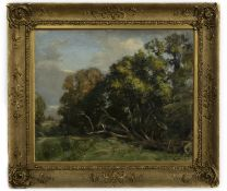 THE WALK TO THE RIVER, AN OIL BY ALEXANDER IGNATIUS ROCHE