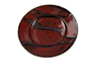 DAVID FRITH, BROOKHOUSE STUDIO POTTERY PLATE