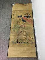 A 20TH CENTURY CHINESE SCROLL