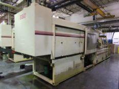 (1) Cincinnati Milacron Model VH600-54 600 Ton Injection Molding Machine