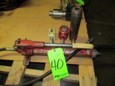 (1) Dayton Manual Hydraulic Pump