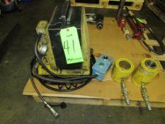 (1) Enerpac Model PER-2041 1HP Portable Electric Hydraulic Pump