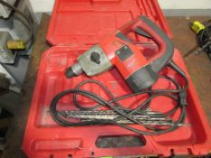 """(1) Milwaukee Cat. No. 5359-21 1-1/8"""" Electric Rotary Hammer Drill"""