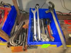 (1) Lot of Assorted Wrenches
