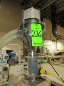 (1) Plastic Process Equipment Model LV-121SDF Vacuum Loader
