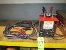(1) Dayton Model 3Z634B 6/12V Battery Tester