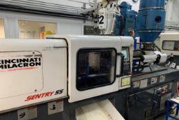 (1) 1997 Milacron 55 Ton Injection Molding Machine