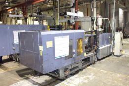 (1) 2000 HPM GP+450, 495 Ton Injection Molding Machine