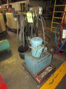 (1) Vickers 5HP Portable Hydraulic Power Unit