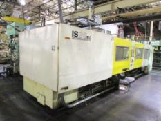 (1) 1996 Toshiba ISGS610V10-59B 610 Ton Injection Molding Machine