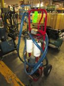 Plastic Process Equipment Model NEF11-610-603 3/4 HP Filter Cart