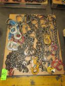 (1) Pallet of Assorted Chain Slings