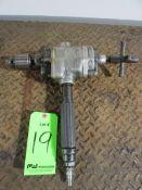 "(1) Ingersoll Rand Model 2XK Multi-Vane 1/2"" Pneumatic Drill"