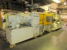 (1) 1999 Mitsubishi 390MJ-60C, 390 Ton Injection Molding Machine